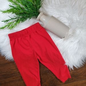Garanimals Joggers | sz 18 | red | stretchy waist